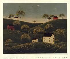 Warren Kimble - Rolling Hills - art prints and posters