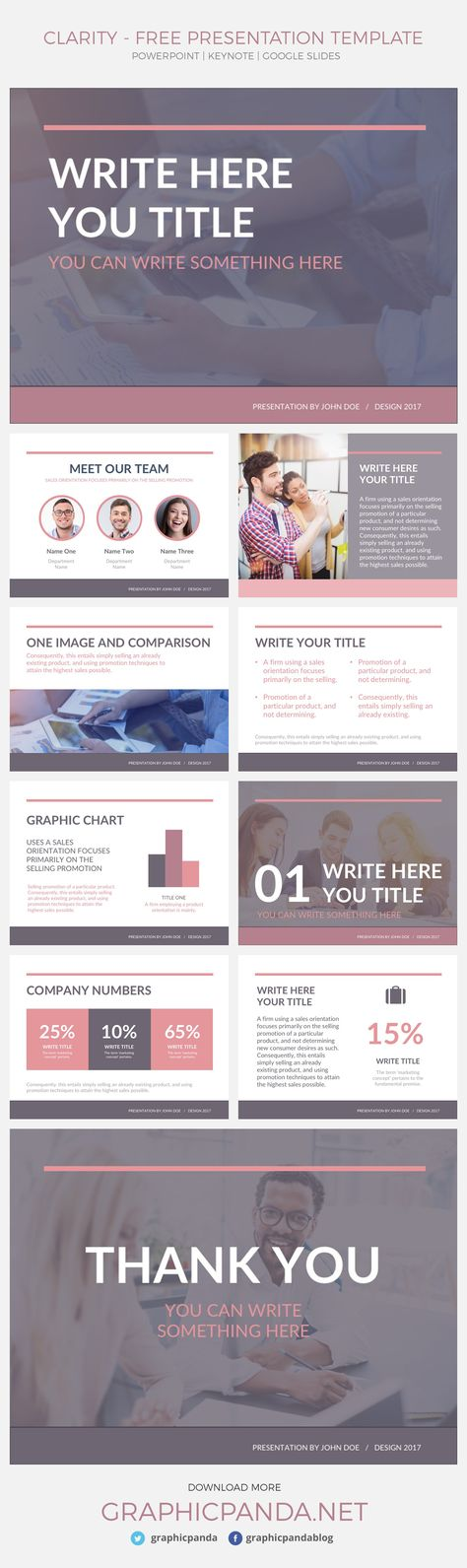 This is a modern and professional free presentation template for - company profile template microsoft