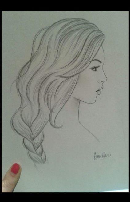 New hair drawing ideas art Ideas