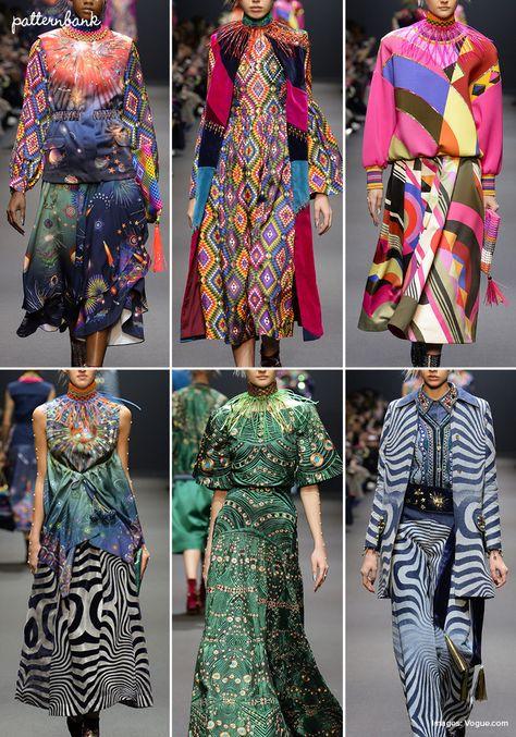 Manish Arora – Fall 2017 – RTW – Paris Fashion Week – Print & Pattern Highlight