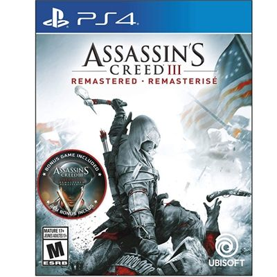 Assassin S Creed Iii Remastered Ps4 Ubisoft Assassins Creed Game