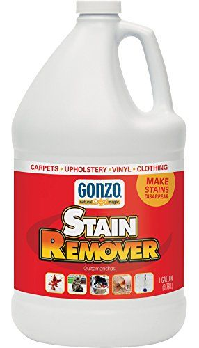 Gonzo Carpet Stain Remover 1 Gallon Natural Magic Super Strength Commercial Enzyme Cleaner For Pet Stains Removes Pet Urine Non Toxic Carpet Stain Remover Stain Remover Carpet Stain Remover Carpet Stains