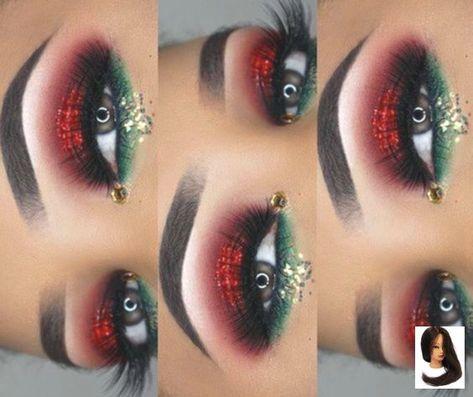 🌸✨fσℓℓσω @💋𝙈𝙠𝙗𝙮𝙄𝙣𝙖𝙮𝙖𝙝💋 fσя м - Christmas Makeup - #CHRISTMAS #fσℓℓσω #fσя #Makeup #𝙈𝙠𝙗𝙮𝙄𝙣𝙖𝙮𝙖𝙝