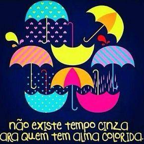 Bom Dia Aqui Com Chuva Mas Deixo O Dia Bem Colorido Bomdia