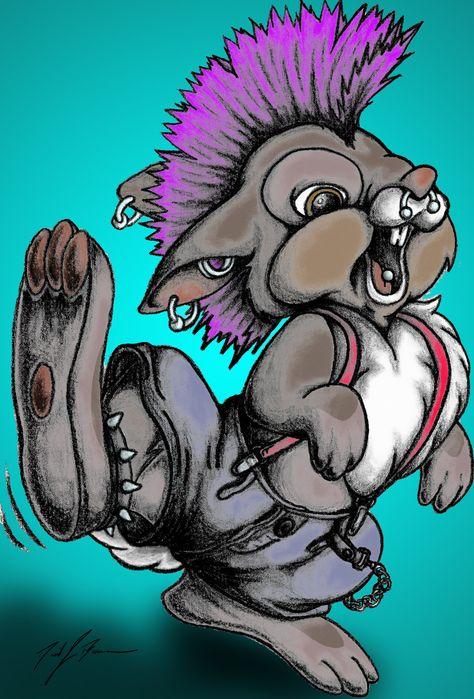 Punk Rock Thumper by Crucifer01 on DeviantArt