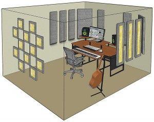 Ordinaire 9 Best Acoustic Treatment Images On Pinterest | Acoustic, House Studio And  Music Studios