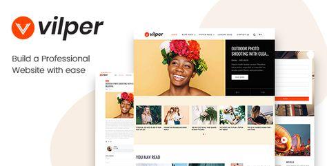 Vilper — Blog and Magazine HubSpot Theme   Stylelib