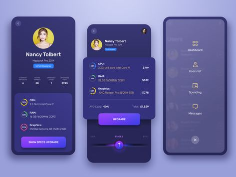 Ramotion / Projects / User Interface Design