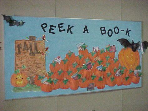 Fall or Halloween bulletin board