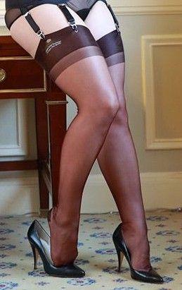Pin on Women Wearing Nylons