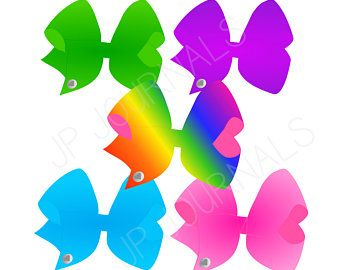 Jojo Siwa Bows Clip Art For Jo Jo Siwa Themed Party Diy Invitations And Decor Jojosiwa Diy Cli Jojo Siwa Bows Jojo Siwa Birthday Printable Valentines Cards