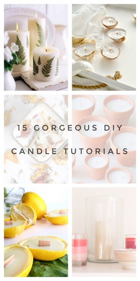 15 Gorgeous Candle DIYs That Are Totally Irresistible