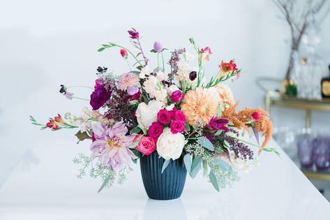 wedding flower arrangement ideas photo by radion photography floral rh pinterest com