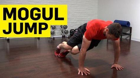 Strengthen Hip Flexors with Mogul Jumps   #TheShoeMart #Running