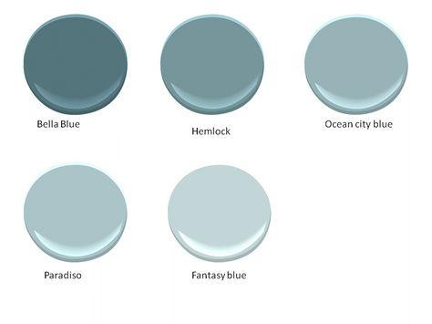 Benjamin Moore Paradiso The Ocean City Blue Or