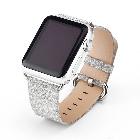 689829121 Amazon.com: LiQi Smart Watch Band Extreme Deluxe 3D Bling Glitter Leather  Bracelet Smart Watch Band Wristband Replacement for Iwatch Apple Watch  (38mm ...