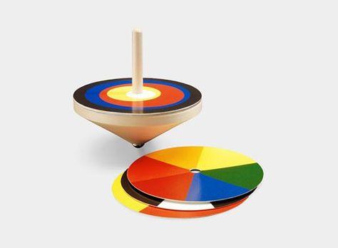 Bauhaus Spinning Top — ACCESSORIES -- Better Living Through Design