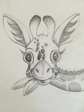 Resultado De Imagem Para Drawings Desenho Girafa Desenhos