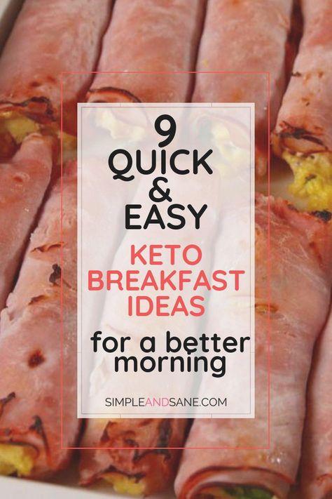 9 schnelle und einfache Keto Frühstücksideen für einen besseren Morgen #frühstück #keto #ketofrühstück