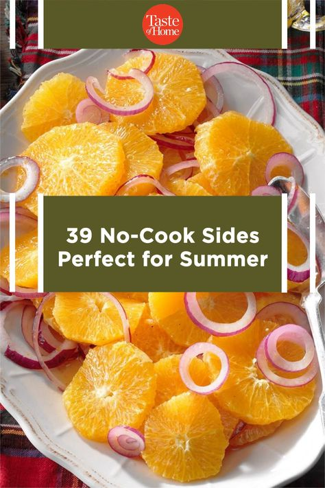 Check out these chill salads and sides that'll keep you and your kitchen cool.