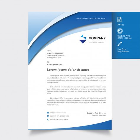 Professional letterhead template with shape blue on color download professional letterhead template with shape blue on color download thousands of free vectors on freepik the finder with more than a million free graphic maxwellsz