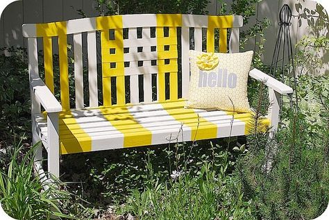 Admirable Must Find A Wood Bench This Was All Done With Spray Paint Pdpeps Interior Chair Design Pdpepsorg