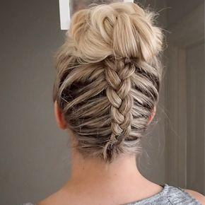 "5,272 Likes, 62 Comments - Lydia  (@whatlydialikes) on Instagram: ""#pressplay New #tutorial backwards Dutch braid into messy bun #hairtutorial #hair #hudabeauty xxx"""