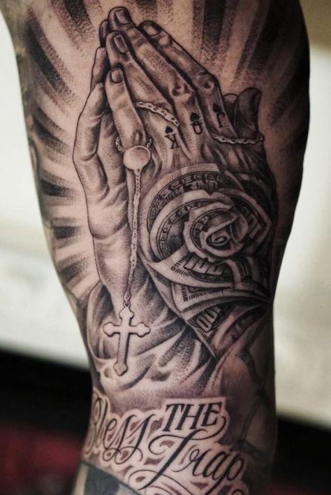 50 Tatuagens Religiosas incríveis você para se inspirar | TopTatuagens