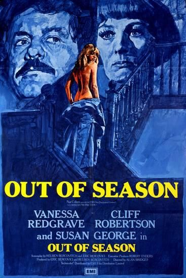 Out of Season (1975) GB EMI Vanessa Redgrave, Cliff Robertson ...