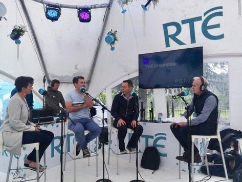 Rte Radio 1 The Business Show Live Bloom 2019 Peter Donegan