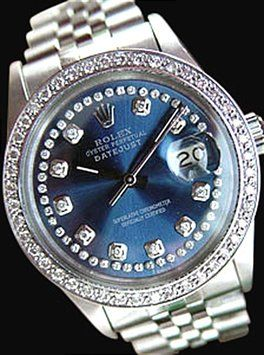 Date just Rolex mens watch blue diamonds dial bezel preowned. Get the lowest price on Date just Rolex mens watch blue diamonds dial bezel preowned and other fabulous designer clothing and accessories! Shop Tradesy now