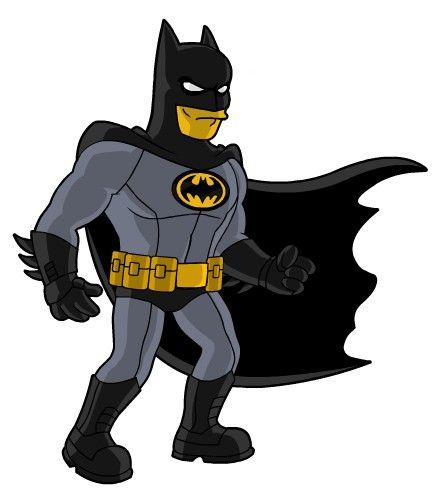 The Bat Man V2 Simpsons Springfield