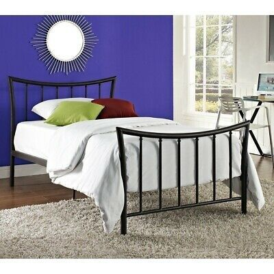 Details About Twin Full Queen King Bronze Metal Platform Bed Frame