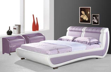 Modern Leather Bed Frames Bedroom Suites Joy Furniture Dream Home Pinterest Frame And
