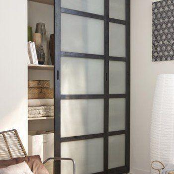 La porte coulissante en 43 variantes magnifiques! Glass partition