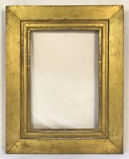 Antique Early 19th C Sully Gold Gilt Frame 10 X 14 Opening Frame Antique Pictures Antique Picture Frames