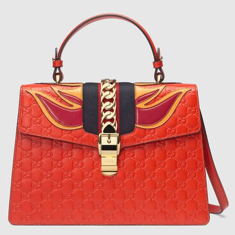 8e9f79321eef GUCCI Sylvie Gucci Signature Bag. #gucci #bags #leather #hand bags #nylon #