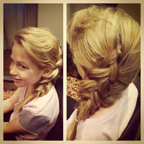 Elsa Hair from Frozen