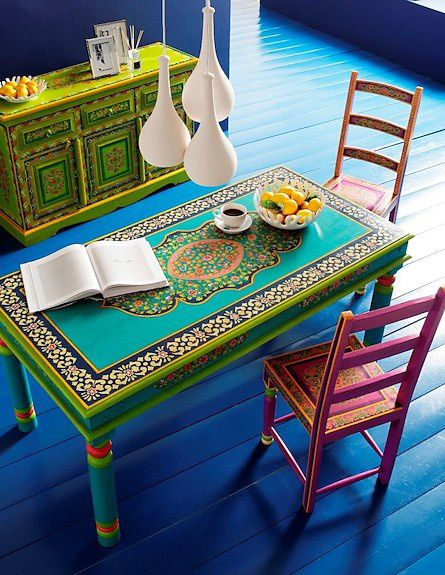 Exceptional Oriental Colorful Furniture Collection Ibiza By Kare | Hippie Gypsy,  Kitchen Decor And Bohemian