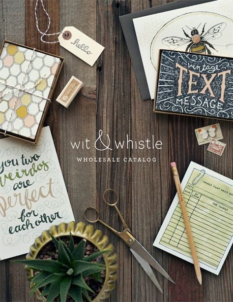 Wit & Whistle Wholesale Catalog