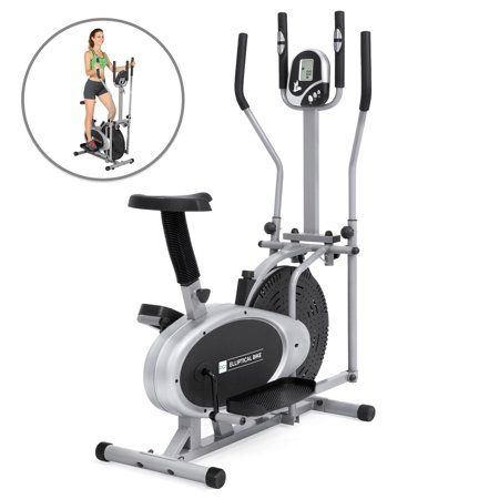 Best Choice Products Elliptical Bike 2 In 1 Cross Trainer Exercise
