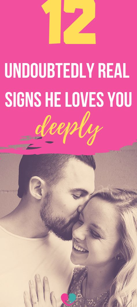 He loves you deeply? 12 signs your man is a keeper and he is in this relationship because he loves you deeply. How many of the points did you tick off? Could he be The One for You? Does he really loves you deeply and unconditionally? Are you going to be his princess? #ishetheone #relaitonshipgoals #relationship #love #keeper #lovehim #helovesyou #deeplove #deepfeelings
