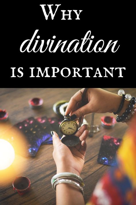 Why IS divination so important? Can't I not just do spells and hope for the best?