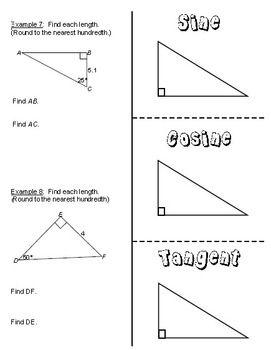 Lesson Plan: Trigonometric Ratios (SOHCAHTOA) | Projects to