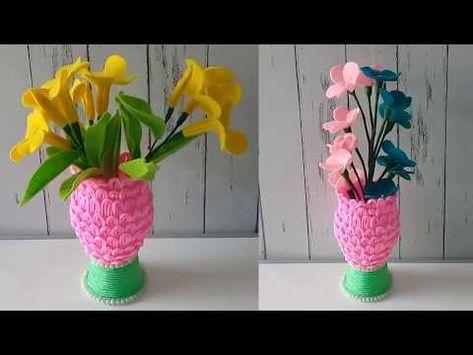 Ide Kreatif Membuat Pot Cantik Dari Barang Bekas Youtube