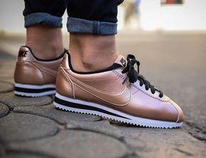 Nike Cortez Leather Metallic Red Bronze (1) Plus   Nike