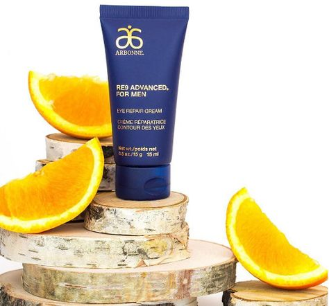 RE9 Advanced® for Men Incredible Eye Repair Cream ~ Micro-Exfoliating Cleanser ~ Shave Cream ~ Anti-Aging Moisturizer Broad Spectrum SPF 15 Sunscreen ! www