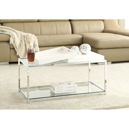 Home White Glass Coffee Table Buy Coffee Table Furniture