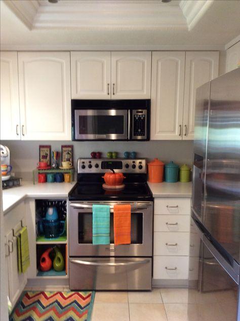 Tiny kitchen. TGFFiesta!