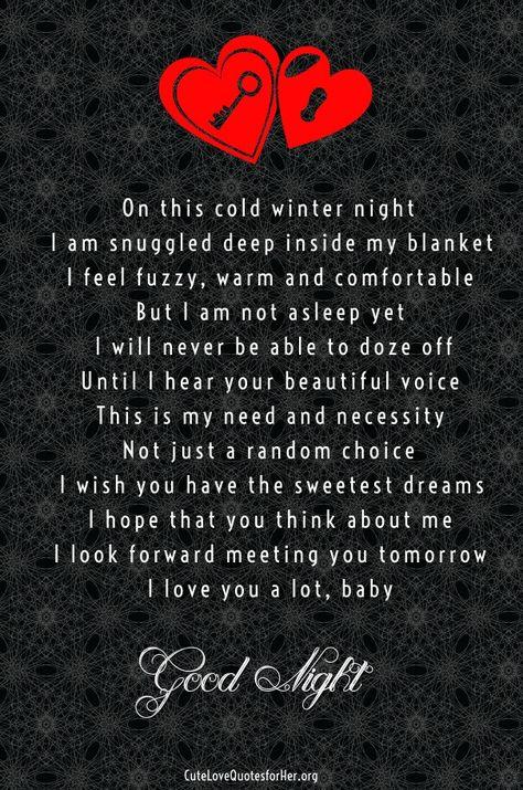deep romantic love poems for him